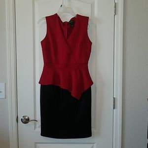 Enfocus Studios Red/black dress